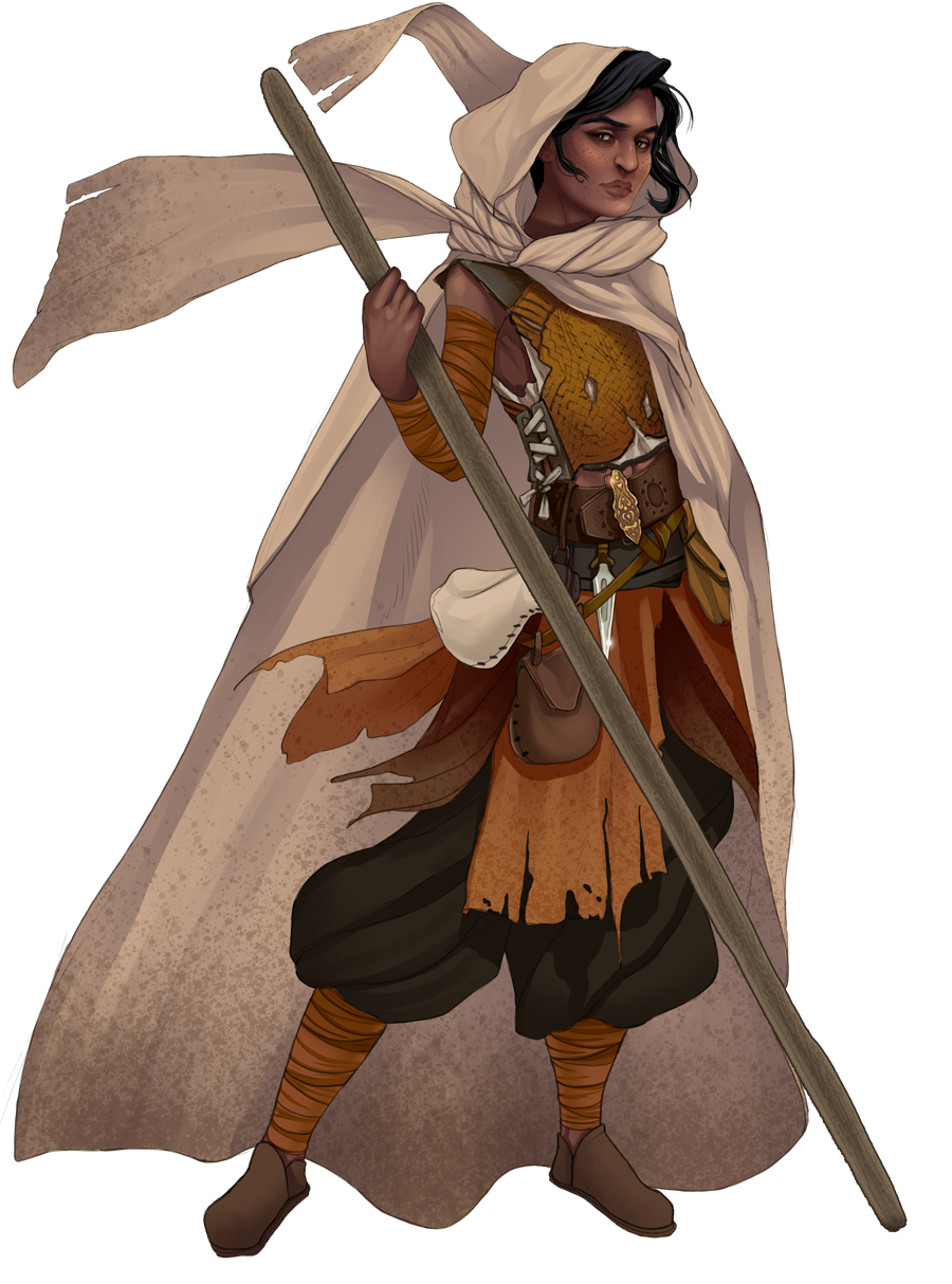 An image of the player character, The Neophyte